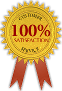 100% Customer Service Satisfaction
