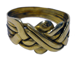 Mid Karat Celtic Design Ring